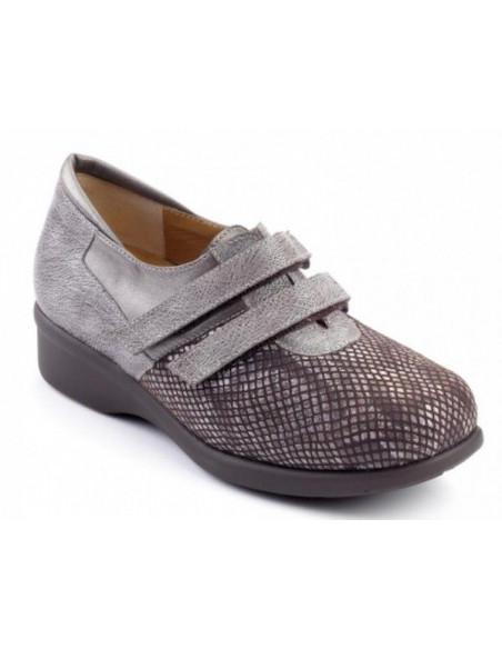 Zapato de señora con 2 velcros