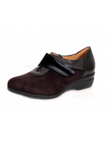 Zapato senora con pala elastica 5066