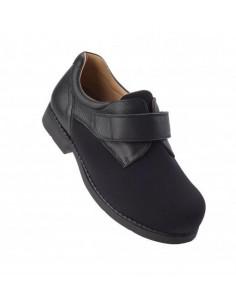 Calzado de caballero con pala elastica para pie diabetico Daimar