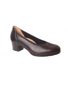 Zapato señora con tacón de...