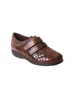 Zapato de mujer con laterales elásticos Daimar