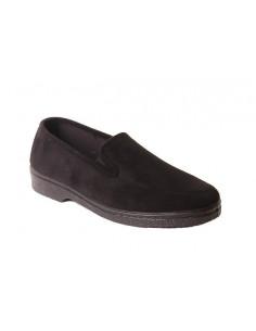 Zapato de caballero con tejido elastico 6009