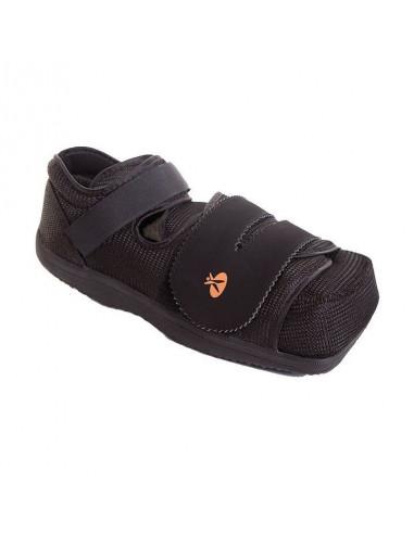 Zapato post-operatorio para pie diabético
