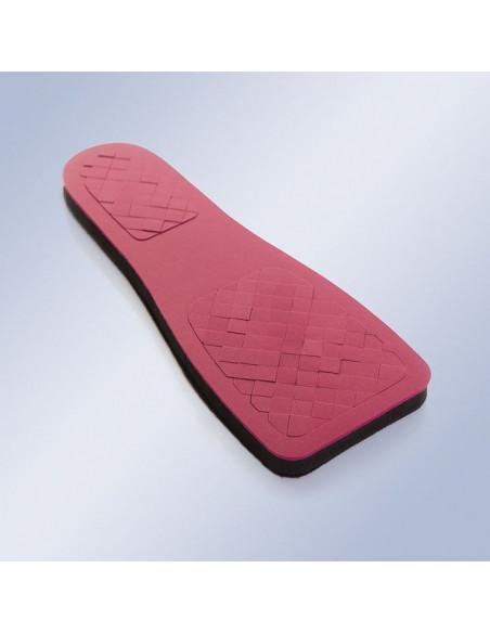 Plantilla especial diabético para zapato post-operatorio