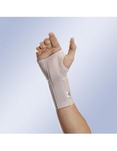 Munequera abierta elastica con ferula