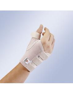 Munequera elastica de pulgar abierta con ferula
