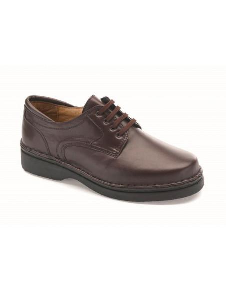 Zapato de caballero con cordones especial plantillas