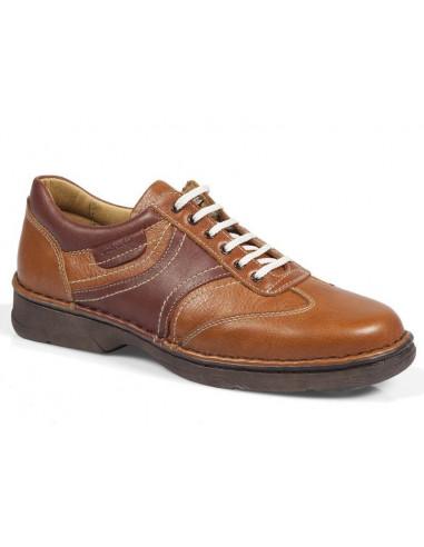 Zapato de caballero con cordones