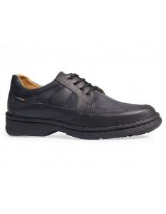 Zapato caballero con piso cosido a mano