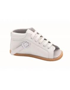 Zpatos niño para montar con férulas horma separadora de Calzamedi