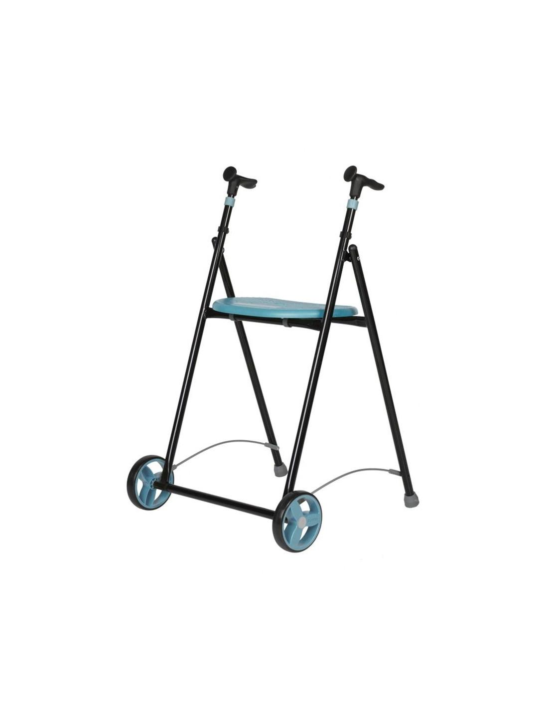 Andador plegable con ruedas y asiento Air-On FORTA