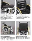 Silla de ruedas activa Ergo Live de Ayudas Dinámicas