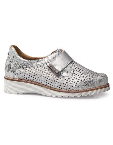 Zapato para senora de verano con plantilla extraible y cuna de Calzamedi
