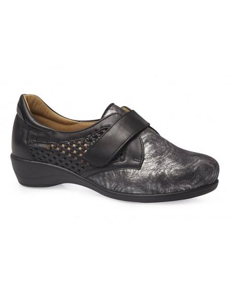 Zapato para señora con pala elástica de Calzamedi