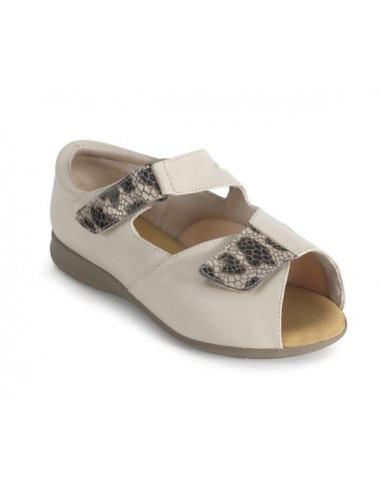 Zapato de verano para senora especial diabetico de Calzamedi