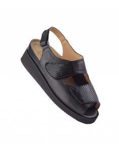 Sandalia especial juanetes con piso microporoso muy ligera