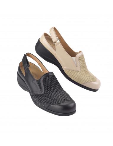 Sandalia con pala muy elastica especial juanetes de Daimar