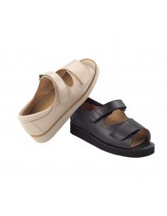 Calzado de senora ancho especial y piel muy suave de Daimar