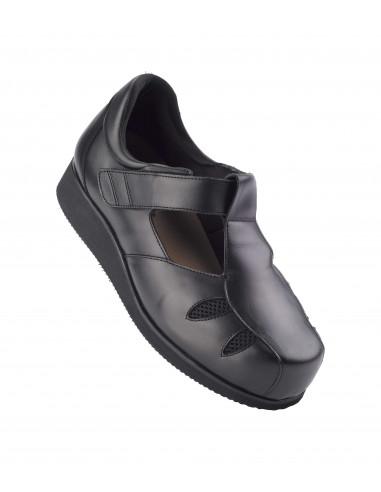 Zapato caballero para diabetico de verano ancho 20