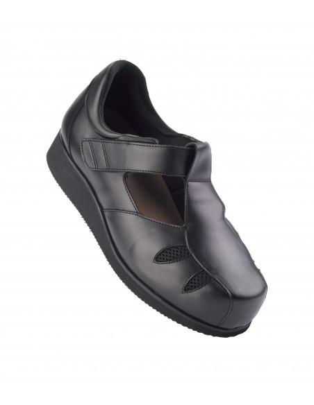 Zapato caballero para diabético de verano ancho 20 6004