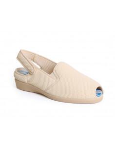 Zapatilla confort para pies sensibles y rejilla elastica de Daimar