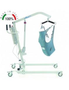 Grua de elevacion electrica de 135 kg con arnes