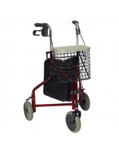 Andador con 3 ruedas DELTA de Invacare