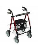 Andador con ruedas asiento regulable en altura HI LOW