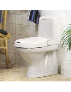 Alzador de WC con tapa HI LOO