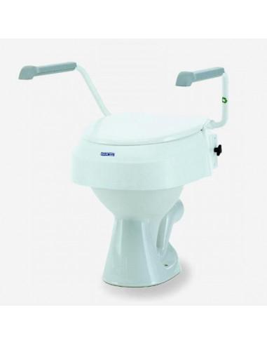 Elevador WC AQUATEC ajustable en altura con reposabrazos
