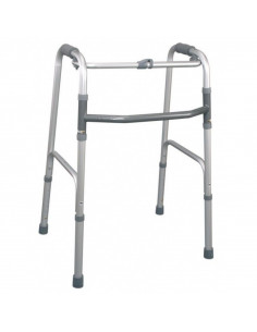 Andador plegable de aluminio