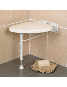 Asiento abatible de ducha especial para esquinas CORNER