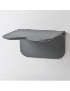 Asiento de ducha abatible gris RELAX
