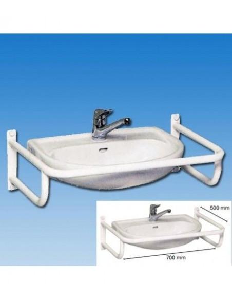 Barra de acero para el lavabo REVATO