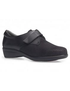 Zapato senora con velcro y plantilla extraible