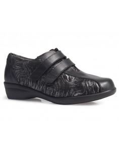 Calzado senora elastico con velcros de Calzamedi