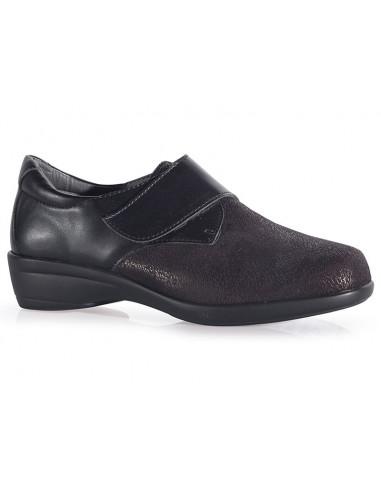 Zapato senora elastico con cierre regulable