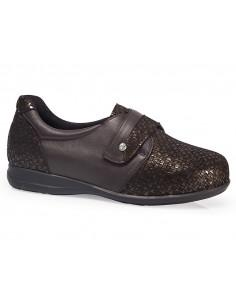 Zapato diabetico senora con plantilla extraible
