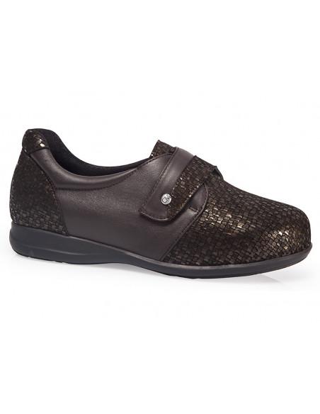 Zapato diabético señora con plantilla extraíble