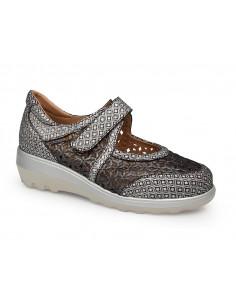 Zapato mujer casual estampado