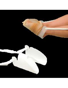 Rodillera con rodete en silicona