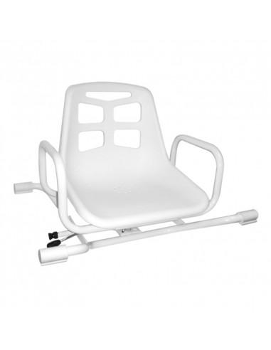 Asiento giratorio de aluminio para bañera 3