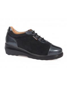 Zapato negro casual con...