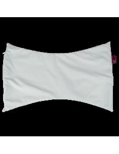 Funda almohada mariposa blanca