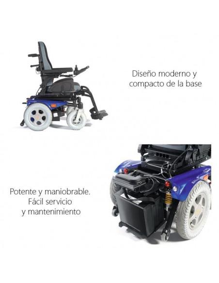 Silla de ruedas eléctrica Salsa R2 1