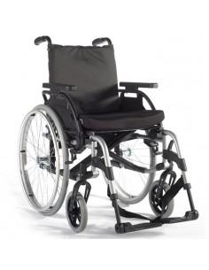 Silla de ruedas de aluminio basiX 2
