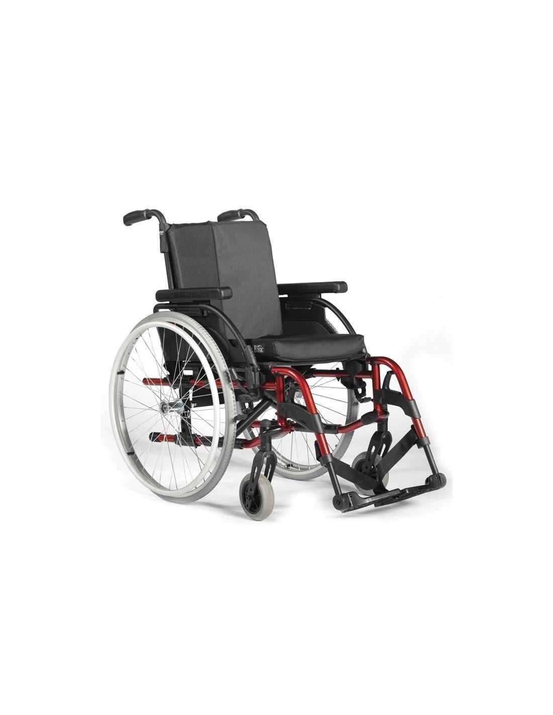 Silla de ruedas de aluminio basix2 for Silla de ruedas