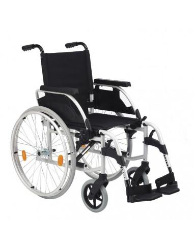 Silla de ruedas de acero estandar  Unix r600