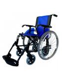Silla de ruedas de aluminio LIne duo azul