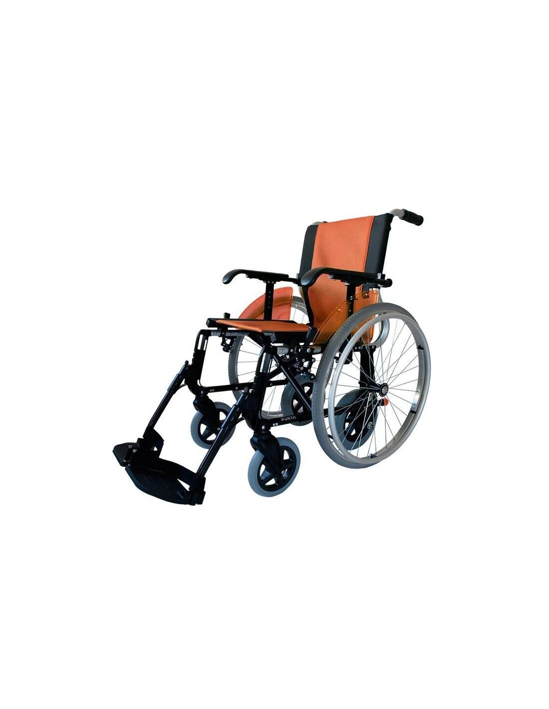 Silla de ruedas de aluminio ligera line duo - Sillas de ruedas ligeras ...